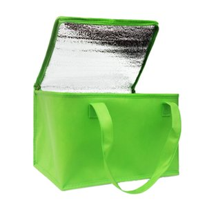 Foldable Large Cooler Bag Portable Cake Insulated Bag Aluminum Foil Thermal Box Waterproof Ice Pack Lunch Box Delivery