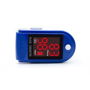 Blutsauerstoffsättigung-Monitor FDA Fingertip Pulsoximeter mit LED-Anzeige, Hand Pulsoximeter