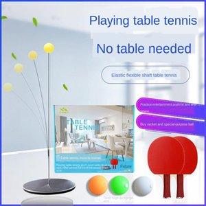 tabla de ejercicio de práctica de juego artefacto artefacto adjus autoformación pista de tenis de mesa en casa de auto-formación profesional de los niños