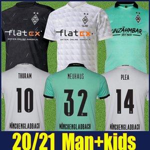 2020 MONCHENGLADBACH Fußball-Trikot 120th Anniversary Herren Kinder Kit Gladbach Jersey 20/21 Mönchengladbach ZAKARIA RAFFAEL Fußball Uniform Top
