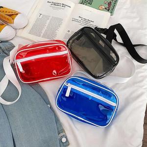 أزياء فاني حزمة أعلى جودة PVC الخصر وسائد هوائية للجنسين الهواء الطلق وترفيه الصدر حقائب حقيبة كتف المرأة الهيب هوب حزام الرجال حقيبة صغيرة حقيبة الهاتف