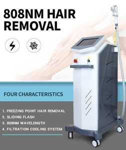 2020 high techology 808nm diode laser hairode Laser Hair Removal Machine Skin Care Face Body Laser Hair Removal Shipping free