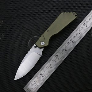 New protech knives stonewash D2 blade 6061-t6 aviation aluminum handle, quick open folding knife outdoor EDC adventure camping knife