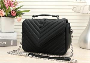 Ruhm Hochwertige Klassiker silberne Kette Schulter Handtasche Frauen Schafsleder-Einkaufstasche niki Mode Umhängetasche Handtaschen N41215