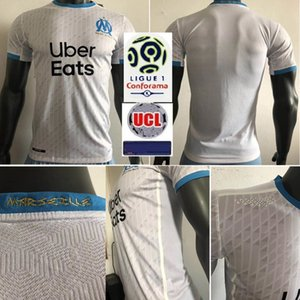 2020 2021 Player version Olympique De Marseille Maillot OM Soccer Jersey Anniversary Maillot De Foot 20 21 PAYET BENEDETTO Football Shirt
