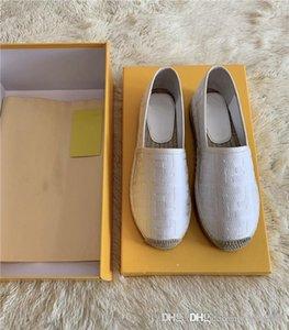 Printemps / été 2020 nouvelles chaussures de pêcheur, chaussures femmes élégantes toutes les chaussures de sport confortables tissés à la main semelle extérieure avec la taille de la boîte 35-41