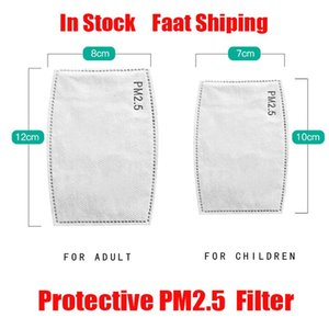 PM2.5 Maschera del filtro Maschera di ricambio Maks Filtri di respirazione Inserire antipolvere nebbia Bocca Maschera maschere bocca fliters carta