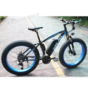 1000W Electric Bicycle 13AH Battery Fast Speed Mountain E-Bike for Adult 35km h Ebike Snow 21 Free Shipping