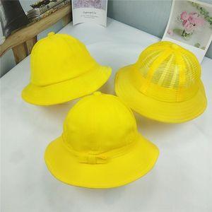 Cute student bucket bucket ball cap fisherman cap small yellow class Cherry small ball windproof fisherman hat sunshade basin hat