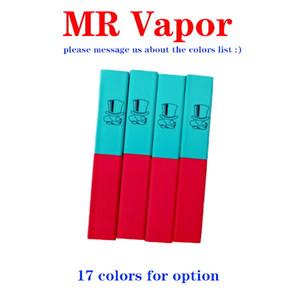 MR MR VAPOR dispositivo desechable de vapor Vape pluma vainas de arranque de la batería 280mAh 1,3 ml cartuchos 400Puffs precargada vaporizadores de hojaldre barra Runtz