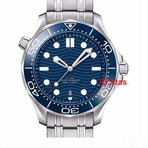 Лучшие каучуковый ремешок розового золота конструктор Часы из нержавеющей стали Мужчины Автоматическая Престижное Мужские Наручные часы Professional Diver 300M Master Часы НАТО