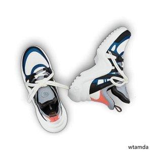 Basket Archlight Turnschuhe Chaussures Silber Silber Archlight weiße Monogramm-Spitze Flache Trainer Sneaker Freizeitschuhe