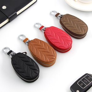 2020 new men's and women's key cases, car key cases, all kinds of cars, zipper multi-function key cases