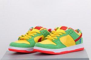 Yeni Dunk SB Düşük SP DD Erkekler Kadınlar Ayakkabı Dunk Boy Sarı yeşil Nötr Gri Tasarımcı Eğitmenler Sneaker ile Kutu boyutu 36-45 Koşu