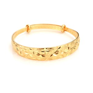 12pcs adjust Gold Bangle for Women Dubai Bride Wedding Ethiopian Bracelet Africa Bangle Jewelry Gold Charm Bracelet party gifts