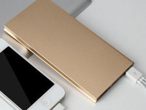 Горячая тема Best Metal для Slim Power Bank 20000mAh Портативный Мобильный Батарея резервного зарядное устройство 2 порта USB чрезвычайных зарядное устройство для всех Смартфонов