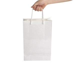 Blank Sublimation Paper Bag A3 A4 A5 Thermal Transfer Cardboard Packaging Bag Custom LOGO Creative Gift Tote Bag White A09