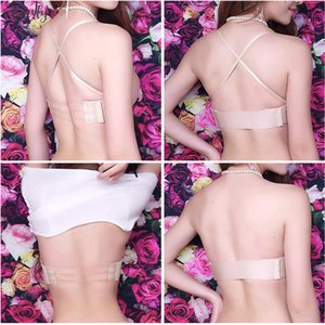 Women Sexy Strapless Invisible Bra Push Up High Quality Bandage Pull Bras 1 2 Cup Seamless Fashion Bra Top Underwear