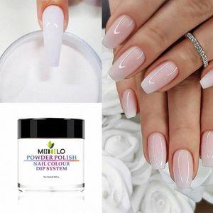 Moda manicura del polvo del brillo Traje Dip polvo uñas de manicura de uñas del gel Chrome Pigmento fondo de goma del sello de desecante yVtQ #