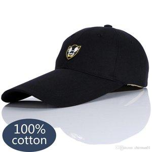 Baseball Cap Visor Cap For Women Men 2020 Snapback Hat Adjustable Hat Dad Hats Fashion Solid Color Long Brimmed Hats DSQICOND2