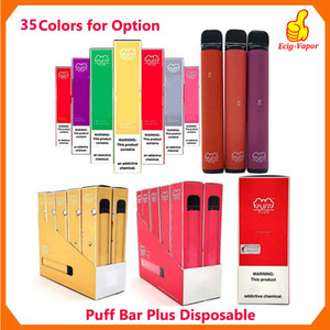 35Colors original SOUFFLE BAR PLUS 800 + Puff jetable Pod Cartouche 550mAh batterie 3,2 ml pré-rempli Vape pods bâton style cigarette électronique portable