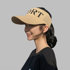 Outdoor sports running Outdoor sports sunscreen sun female summer all-match sunscreen hat UV-proof empty top duck tongue baseball hat
