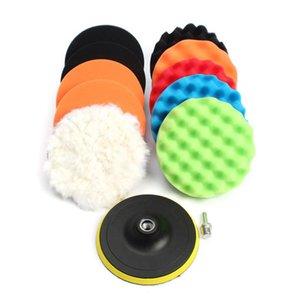 De haute qualité multifonctions 12pcs / Set Car Kits de polissage de polissage éponge fartage Râper Pads Kits Set pour voiture Polisseuse