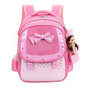 kOsqW Korean style baby schoolbag for primary school students grade 1-3-5 girls and children ultra-light burden reduction Bag backpack backp