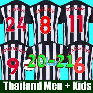20 21 Home Kit Soccer Jerseys SHELVEY 2020 2021 JOELINTON NUFC NEWCASTLE Football Shirt ALMIRON RITCHIE GAYLE UNITED Jersey