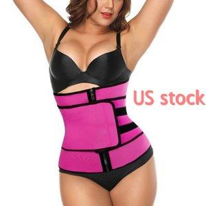 US Ship Plus Size Body Shaper Waist Trainer Belt Women Postpartum Belly Slimming Underwear Modeling Strap Shapewear Tummy Fitness Corset