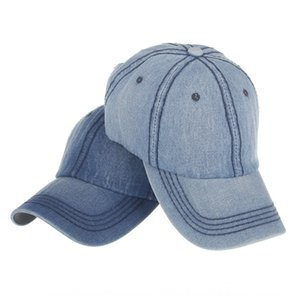 New casual washed jeans summer travel men's and women's cowboy hat Baseball baseball cap cap sun hat