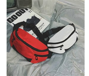 New Waist Leisure Shoulder Bags Fanny Pack for Men and Women Letter High Quality Oxford Waist Bag Packs