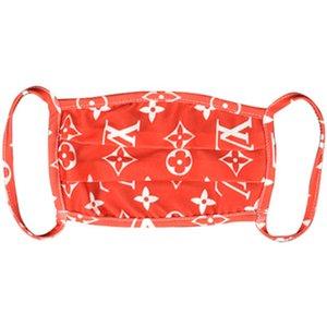 Fasionable New-Style Terament Подражать Real Silk Байдена маска Женщины атласная Fa Длинные деньги Печать Байдена Маска Весна Лето флягу # 237 # 939