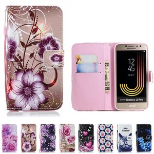 Leather Phone Case Wallet Cover For Samsung Galaxy S10 S10E Cases A7 A9 A6 A8 Plus J2 J4 J6 J7 J8 Core Flip Stand Book