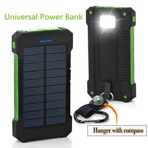 20000mah 태양 Poverbank를 들어 샤오 미 아이폰 LG 전화 전원 은행 충전기 배터리 휴대용 모바일 진상 은행되는 PowerBank