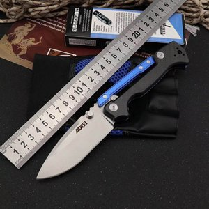 acier froid AD couteau de pliage 15 tactique M390 couteau de poche lame aluminium + fibre de carbone poignée couteau de survie de chasse camping en plein air AD-15