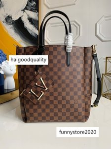 top N60294 onthego Genuine leather designer luxury handbags purses twist handbag messenger shoulder pockets Totes Shopping bag 7339044