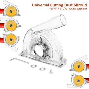 Universal Cutting Dust Shroud Grooving Protective Cover For 100 125 150mm Angle Grinder 90 115 125mm Saw Blades Woodworking Tool