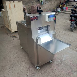 Sell Electric Lamb Roll Slicer Machine Freezing Beef Meat Cutting Machine Multifunctional Hot pot lamb roll cutting machine