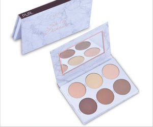wholesale makeup Marble eyeshadow contouring powder manufacturer offers hot style water-resistant, sweat-proof, matte, naked-makeup 6-color