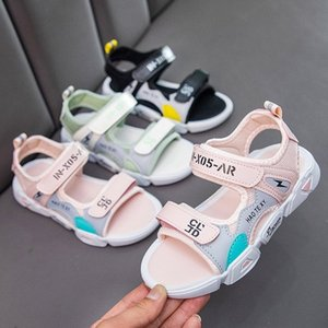 oX7Qx 2020 new Korean style magic sandals soft bottom breathable casual internet Sandals children's shoes Red men's and women's children's