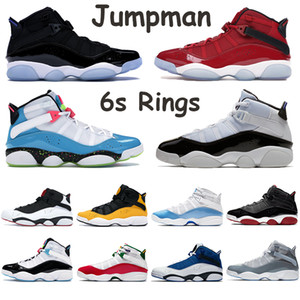 New Jumpman Basketball Chaussures Anneaux Taxi Cool Gray équipe royale Bred UNC Concord Multicolor Black Ice Space Jam Haute Chaussured Chaussures de sport