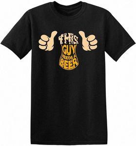 Dieser Typ benötigt ein Bier-Party Drinking Game Humor Funny Herren T-Shirt Männer Frauen Jugendliche Spitze T Shirt Retro T-Shirts sonderbar Shirt fXEP #