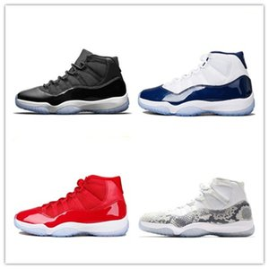 11 11s Jampman Basketball Shoes Bred Space Jam Concord 45 Platinum Tint XI Men Women Shoes Sport Sneakers