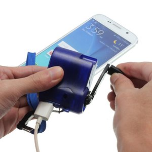 Tragbarer Generator Handenergien-Dynamo-Kurbel Wind Up USB-Handy im Freien kampierende Rucksack Notfall-Ladegerät für IPhone HUAWEI