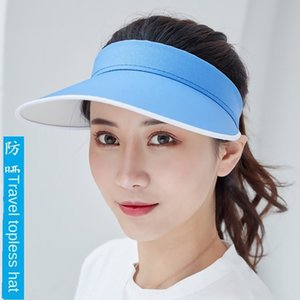 Sun sun fisherman female outdoor cap empty tourism advertising printing Yiwu bucket hat bucket hat