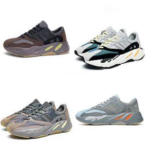Baby Boy Chaussures de football Bottes en cuir véritable Petits Garçons Filles Sport Walking Kanye West 700 Kanye West 700 Chaussures Eu 26-35 Envoyer Kid avec la boîte # 772