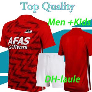 niños hombre kit 20 21 AZ Alkmaar fútbol casero Jersey 2020 2021 DE WIT Stengs Boadu camiseta de fútbol Alkmaar Az Stichting maillot de pie camisa