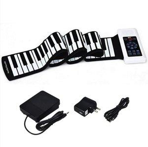 Touch-Screen-Handrolle elektronisches Klavier portable 88-Tasten Anfänger Erwachsene zu Hause Bluetooth MIDI Hand Roll Piano