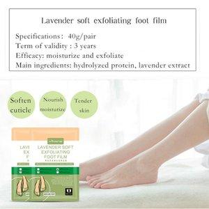 The Soft Exfoliant Foot Repair Retirez le film Mascarilla Hydratant Mascarilla Deep Epent Callostumes Exfoliant Foot Lavande Masque Supprimer Cutique LFSK